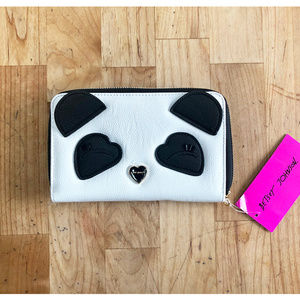 Betsey Johnson Panda Bear Wallet NWT